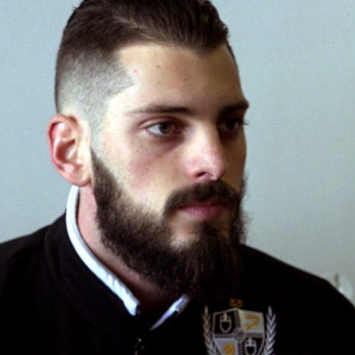 Port Vale goalkeeper Leo Fasan