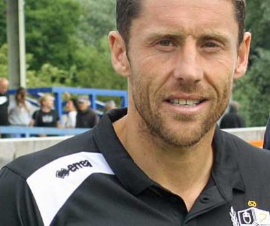 Port Vale coach Michael Brown