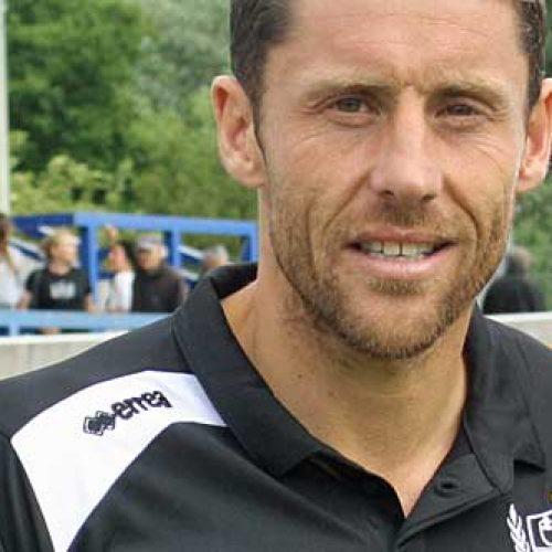 Port Vale coach Michael Brown