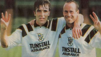 Bernie Slaven and Martin Foyle