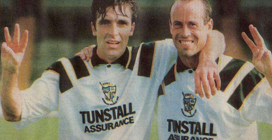 Bernie Slaven and Martin Foyle