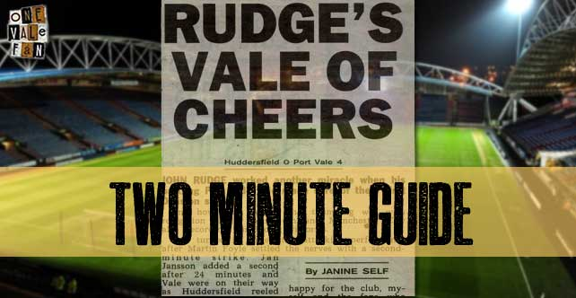 Two minute guide to: Huddersfield Town v Port Vale