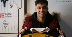 Port Vale sign striker Tyler Walker on loan