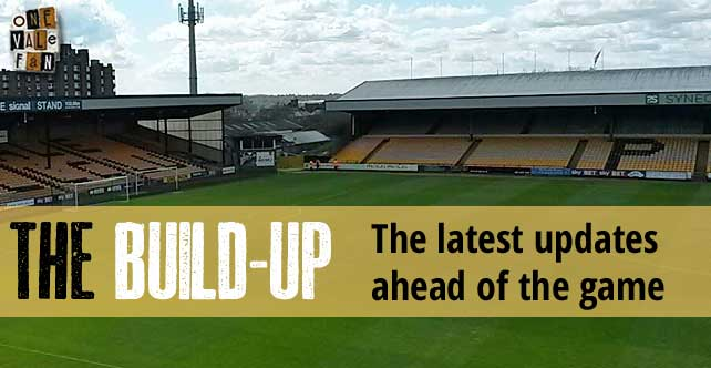 The build-up: Port Vale v Bristol Rovers…