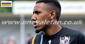 Port Vale winger Cristian Montano