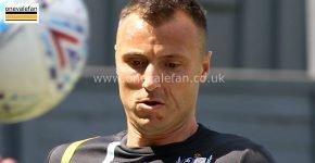 Port Vale midfielder Antony Kay