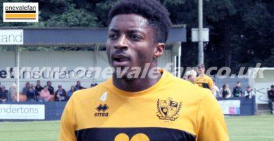 Port Vale striker Devante Rodney