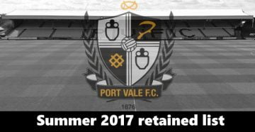The 2017 retained list
