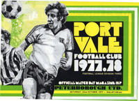 1977 Port Vale matchday programme