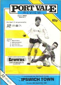 1988 Port Vale programme