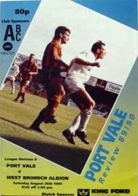 1989 Port Vale programme