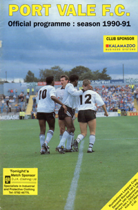 1990 Port Vale programme