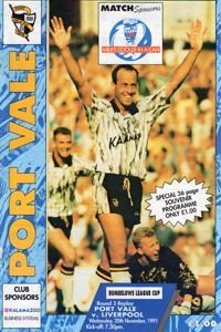 1991 Port Vale programme
