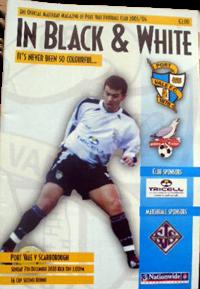 2003 Port Vale programme