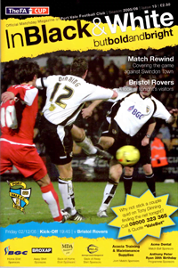 2005 Port Vale programme