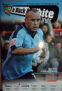 2006 Port Vale programme