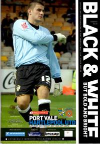 2007 Port Vale programme