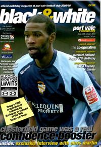 2008 Port Vale programme