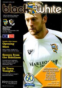2010 Port Vale programme