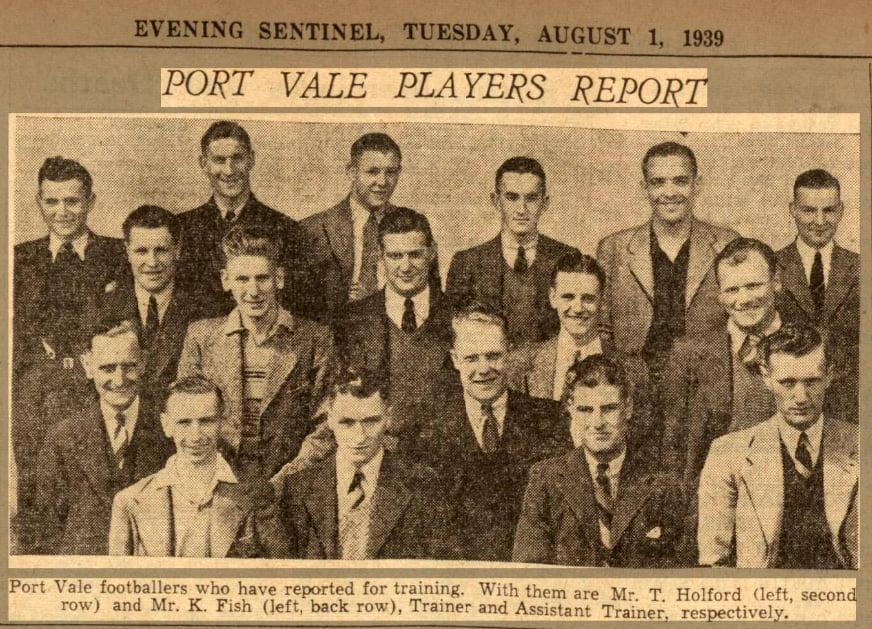 1939 Port Vale team