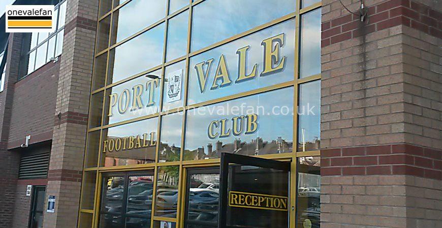 Vale Park official entrance