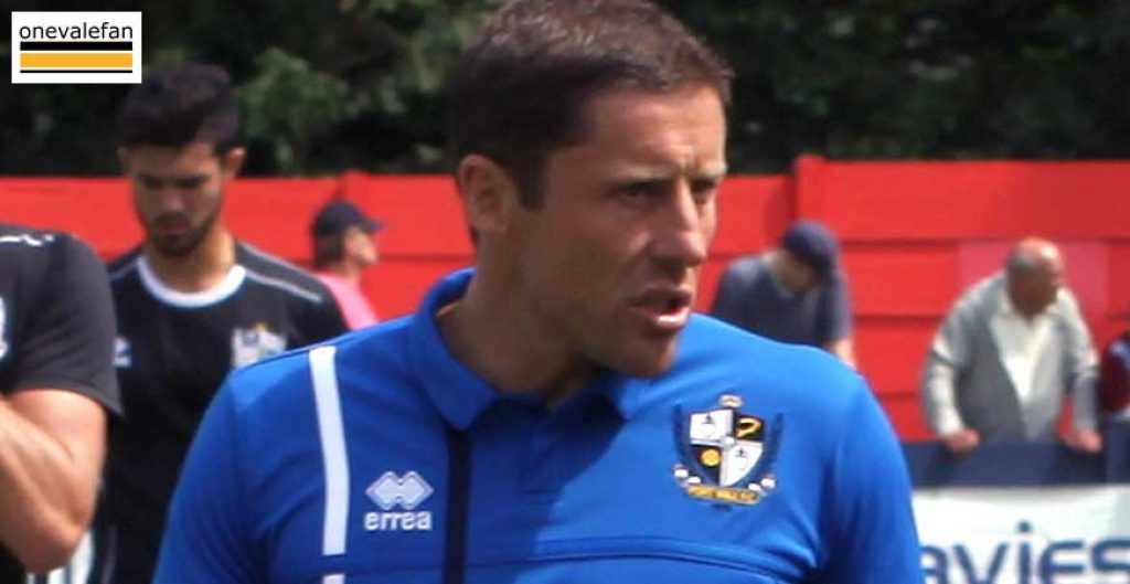 Port Vale manager Michael Brown