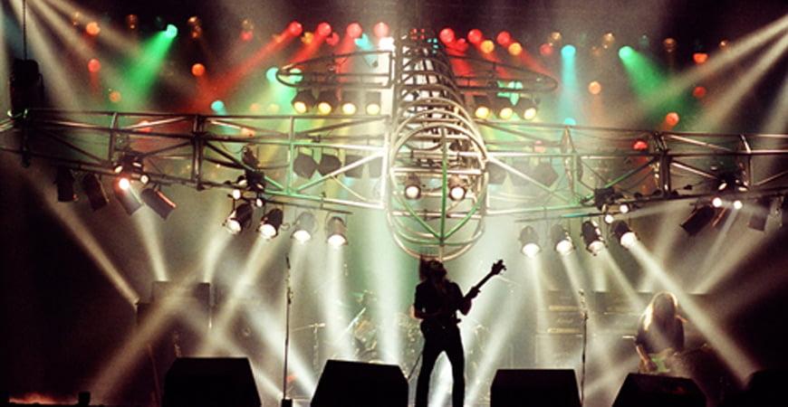 Motorhead play at Vale Park stadium