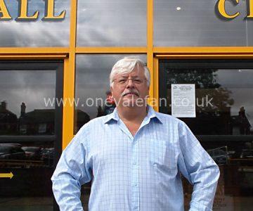 Port Vale owner Norman Smurthwaite