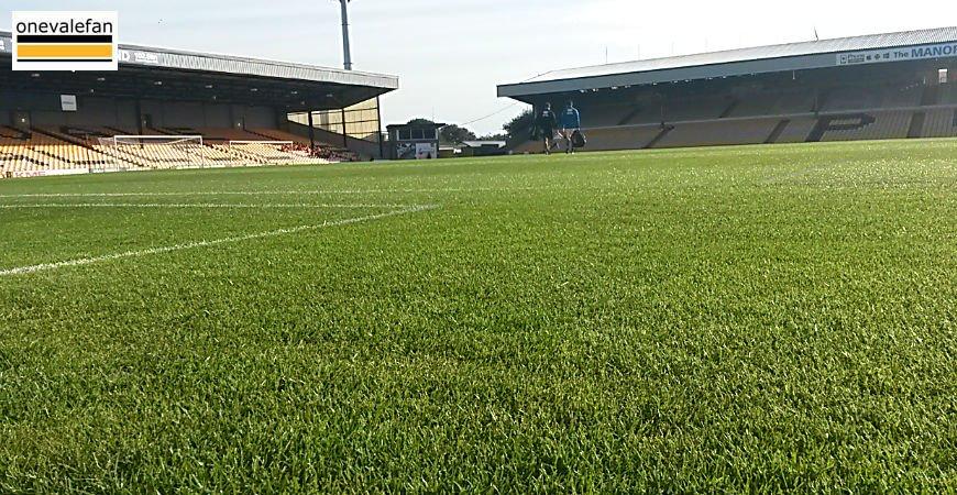 Vale Park pitch