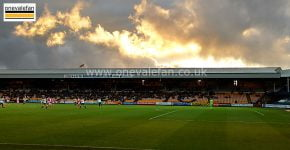 The Railway stand, Vale Park