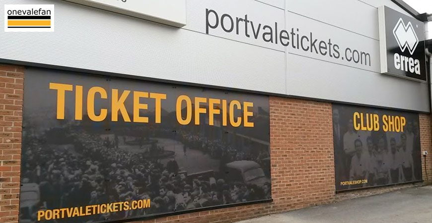 Vale Park ticket office
