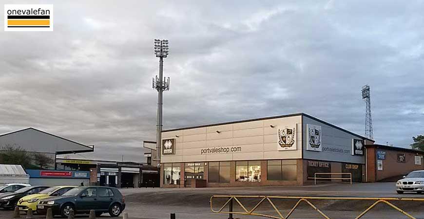 Port Vale shop
