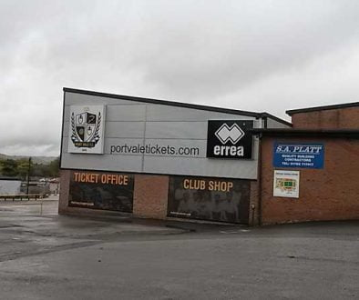 Vale Park ticket office