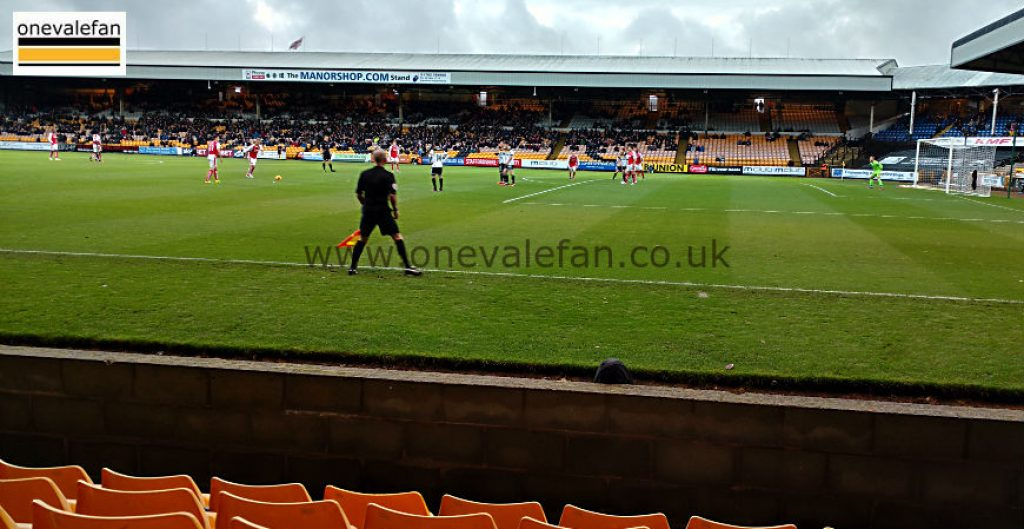 The Railway Stand, Vale Park stadium