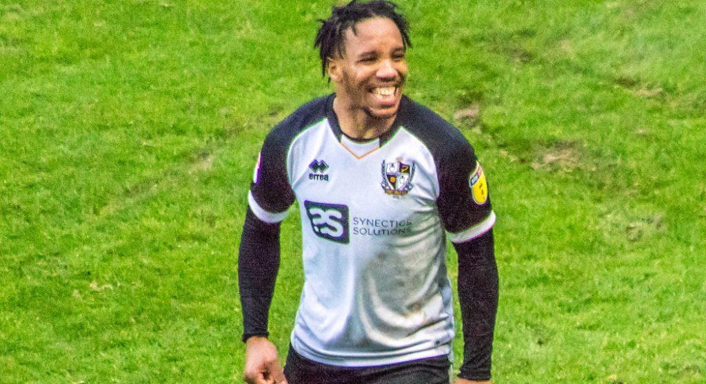 Rhys Browne of Port Vale