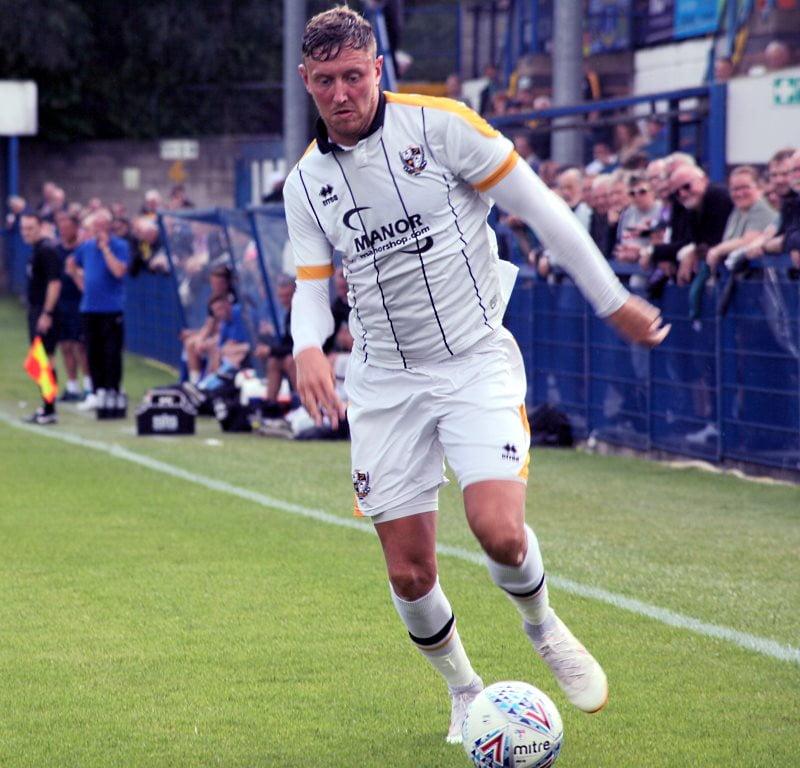Richie Bennett in action for Port Vale at Leek