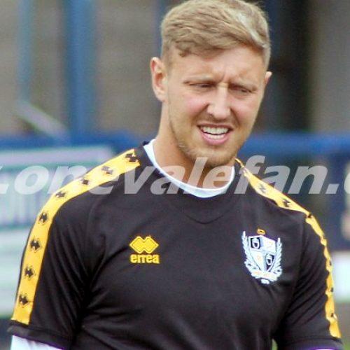 Port Vale striker Richie Bennett