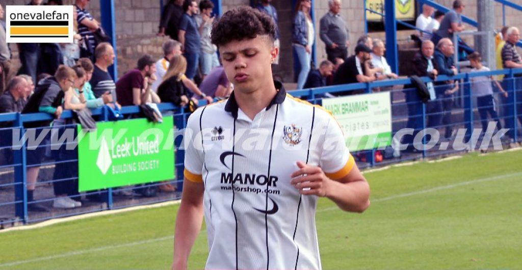 Port Vale defender Ryan Campbell-Gordon