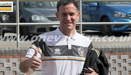 Port Vale midfielder Luke Joyce