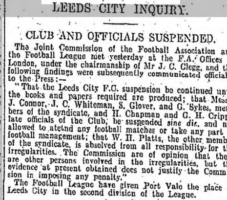 leeds city inquiry