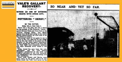 Clipping - Potteries Derby 1928