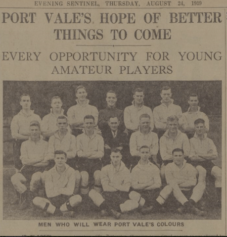 young amatuer players 1939