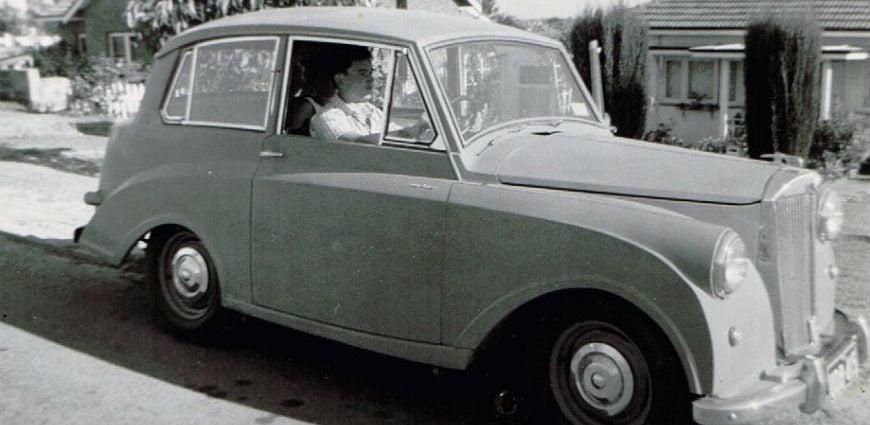 Barry Edge car