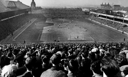 The FA Cup semi-final in 1954