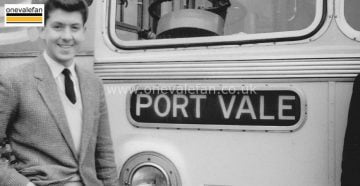 Ken Hancock and the Port Vale coach