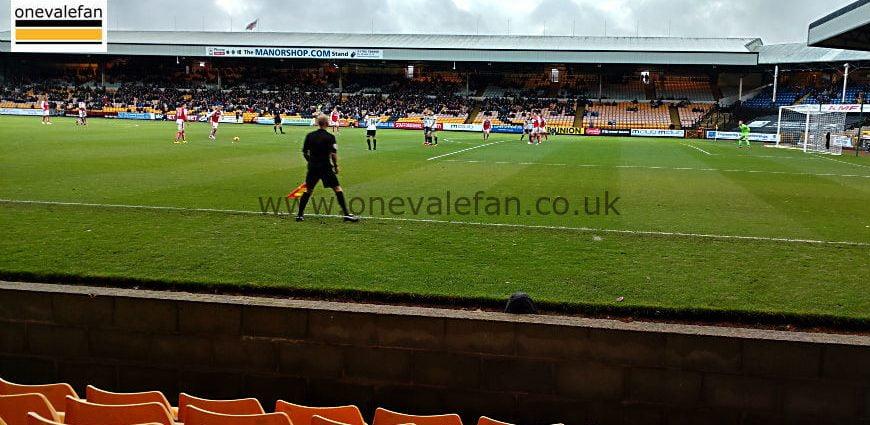 Port Vale fixtures