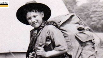 Barry Edge in scout gear