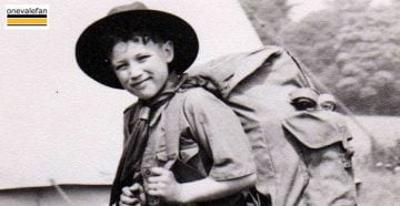 Barry Edge in scout gear