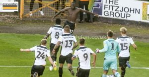 Idris Kanu goal celebrations