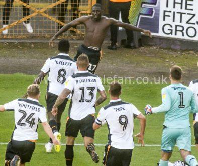 Idris Kanu goal celebrations